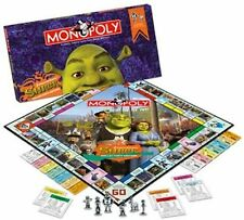 SHREK Collector Edition Monopoly NEW Factory Sealed Board Game Pewter Pieces NIB