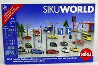 ROAD SIGNS and STREET LAMPS Ages 3+  Siku 5594  NEW TOY