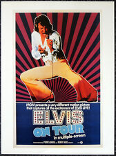 ELVIS ON TOUR 1972 FILM MOVIE POSTER PAGE . ELVIS PRESLEY . V49