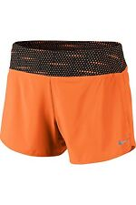 NWT Nike Rival Women Running Shorts Bright Mandarin 647681-856 size XL MSRP $55
