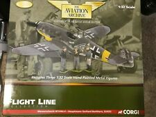 1/32 Corgi AA34903 -  ACE BARKHORN ME-109G-6 & GROUND CREW - New Old Stock
