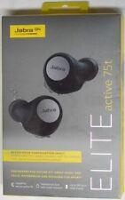 Jabra Elite Active 75t True Wireless In-Ear Headphones Titanium Black, Sealed
