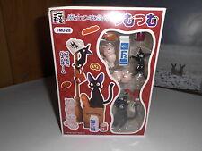 Kikis kleiner Lieferservice Jiji und die Kätzchen Set Ghibli NEU Delivery Figure