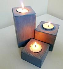 Handmade Wood/Woodwork Driftwood Candle/Tea Light Holder. Rustic Home Decor/Gift