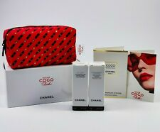 CHANEL COCO MADEMOISELLE 1,5ml Tasche coco flash + rouge + creme + cleansing mlk
