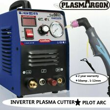 IGBT Air Inverter Plasma Cutter Macchina CUT50 PILOT Taglio Spessore Di Taglio