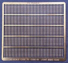 Code 70/83 Joint Bars 4 Bolt/2 Open Holes 6 Bolt Bar Ho-Scale Kv Models Kv-2013H