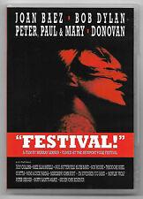 "DVD / JOAN BAEZ , BOB DYLAN , PETER PAUL & MARY "" FESTIVAL "" (MUSIQUE CONCERT)"