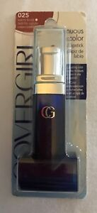 New Sealed Covergirl Continuous Color Lipstick Warm Brick 025