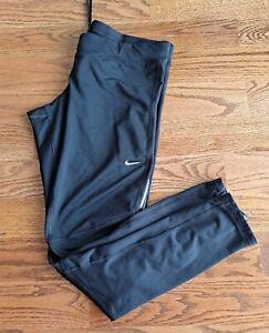 Nike Dri-fit Running Athletic Leggings Pants Women's Size XL Black