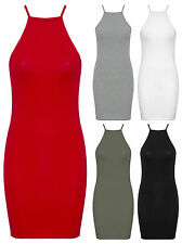 Unbranded Women's Sleeveless Stretch, Bodycon Casual Dresses