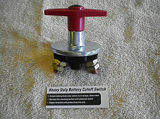 HEAVY DUTY BATTERY CUTOFF SWITCH..GM, FORD, MOPAR, DODGE CHRYSLER, PLYMOUTH