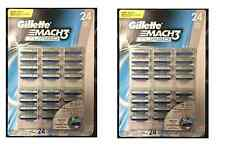 Gillette Mach3 Turbo Blister Pack - 48 Cartridges