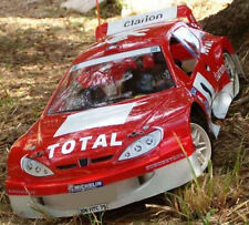 1/8 Peugeot 206 Rally RC Car body Shell 1.5mm Serpent GT Traxxas Slash 0101