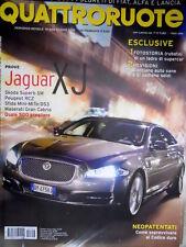 Quattroruote 656 2010 Prove Jaguar XJ, Maserati Gran Cabrio. Mini vs Mito [Q99]