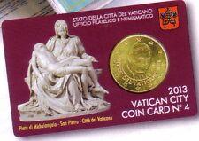 Vatican 2013, coin card n°4.