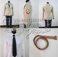 Angel Beats sss male uniform   Anime  Cosplay Costume Custom Any Size