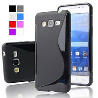 S LINE WAVE GEL SILICONE RUBBER GEL CASE COVER FOR ALL SAMSUNG GALAXY MODELS