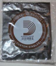 D'ADDARIO  5  Cordes Guitare Acoustique  - Phosphore Bronze - PB025