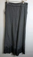 New York And Company Womens Dress Pants Stretch Size Small Black Gray White