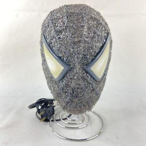 Marvel Comics Spider-Man Venom Bedroom Table Lamp Night Light Bobble Head Works