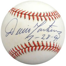 "Dennis ""Denny"" Martinez Autographed NL Baseball Orioles ""7-28-91"" Beckett H10184"