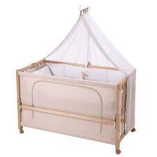 Roba Room Bed Kinderbett Beistellbett Liebhabär 60x120 cm Holz natur NEU