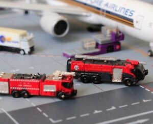1/400 Airport GSE sets - Airport Fire Truck X 2