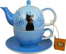 Tea for one Set FILOU Cha Cult handbemalt (kl. Teekanne mit Teetasse )