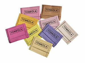 100 Winner Tombola Tickets. Winning Tickets for Fete Fundraising Colour may vary