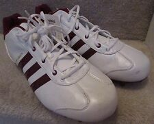 Adidas University LE Mens Football Cleats Shoes Size 12.5 White 352746 NWT NEW