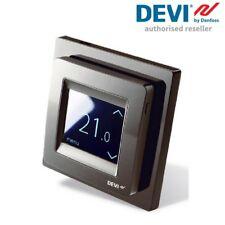 DEVI Devireg Touch Thermostat - Black Frame - 140F1069