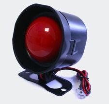 Akustische Sirene 6Ton 115 dB US Polizei Ambulanz Notfallsignal Töne wählbar