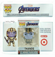 Funko Pocket Pop Marvel Avengers End Game Thanos Target Exclusive
