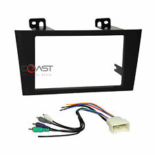 Car Radio Stereo 2 Din Dash Kit Amplified Harness for 2000-2004 Toyota Avalon
