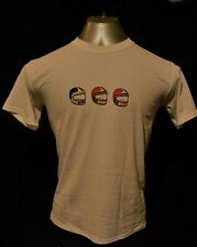 Honda Crash Helmets Retro 1980's design - White T-Shirt