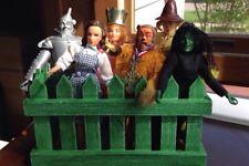 Vintage 1972 MEGO Wizard Of OZ Action Figures Set of 6 Dorothy Tin Man Lion etc