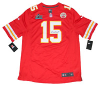 PATRICK MAHOMES SIGNED KANSAS CITY CHIEFS #15 NIKE SUPER BOWL LIV JERSEY JSA