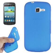 TPU Case für Samsung S7572 Galaxy Trend II Duos blau Handyhülle Schutzcase Hülle