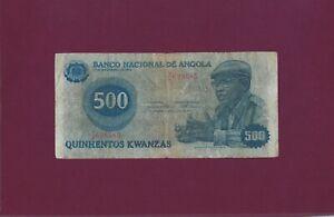 Portugal ANGOLA 500 KWANZAS 1979  P-116 fine