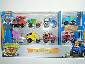 Nickelodeon Paw Patrol Dino Gift Pack - 8 Vehicles - See Details