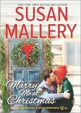 Fool's Gold: Marry Me at Christmas 21 by Susan Mallery (Hardcover) FREE SHIPPING