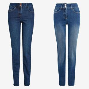 Ladies Next Enhancer Slim High Waist Jeans Blue Sizes 6 - 16 B159