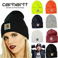 Carhartt Mens Acrylic Watch Beanie Winter Knit Beanie Cap/Hat A18  Choose Colors