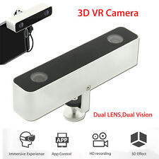 Dual Lens VR Video Camera 3D Camcorder For Android Phone Samsung HTC App Control
