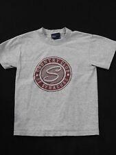 Boys Grey T-Shirt - Country Club of Syracuse NY - MV Sport  - M - EUC