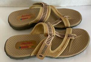 Skechers Outdoor Lifestyle Slip On Sandals Women's SZ 9 Hook & Loop Adjustable