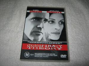Conspiracy Theory - Mel Gibson - VGC - DVD - R4