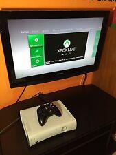 Xbox 360 Bianca Withe Con Joypad