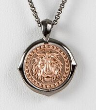 Stephen Webster Gold Plated Sterling Silver Leo Chain Pendant Necklace Zodiac